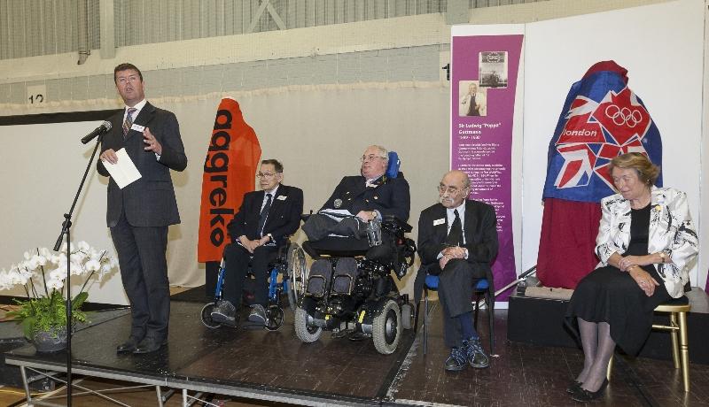Poppa Guttman Celebration, Stoke Mandeville.